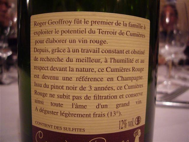 Champagne Geoffroy